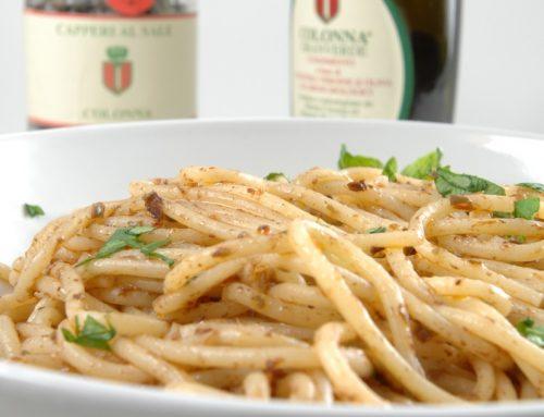Spaghetti Pantesca al Granverde