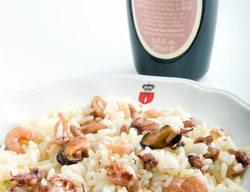 RISOTTO WITH ROSAOLIVA OIL