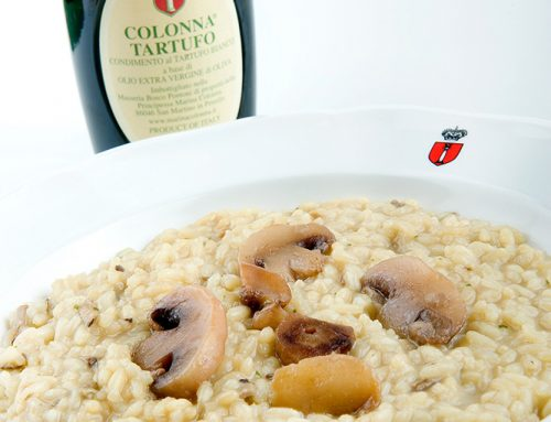 Mushroom risotto with Tartufo oil