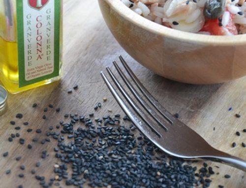 Riso freddo ai semi di sesamo e olio Granverde